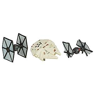 Hasbro B3500 Niño 3pieza(s) Kit de Figura de Juguete para niños - Kits de Figuras de Juguete para niños (4 año(s), Niño, Multicolor, Acción / Aventura, Star Wars, Ampolla)