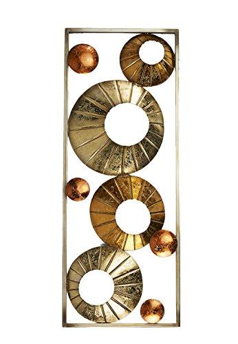 wanddekoration-wandbild-wandschmuck-wandhanger-wanddeko-aus-metall-silber-gold-kupfer-mit-metallrahm