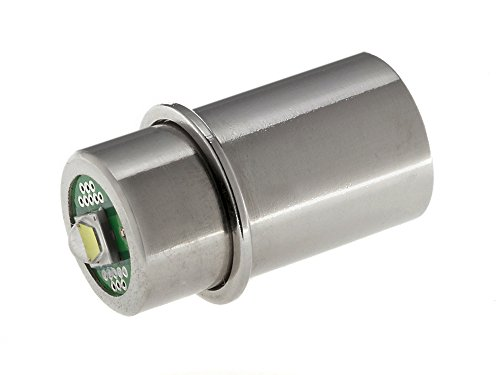 Maglite LED Upgrade | LED-Ersatzbirne für Taschenlampe MAG-LITE 1-3 C/D-Cell | TorchLED-MagLV | super hell, 3 Watt, 1 - 4,5 Volt