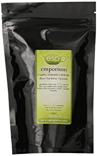 ESP Emporium Black Tea Blend, Organic Strawberry/Mango, 1.76 Ounce