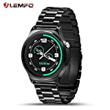 Best Relojes de Ritmo Cardiaco LEMFO - Podómetro de Control de Ritmo cardíaco LEMFO GW01 Review