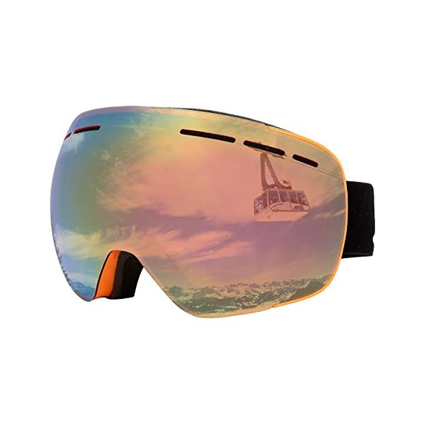 ec39a28aba Supertrip TM Unisex Ski Goggles UV400 Protection Ski Goggles Anti ...