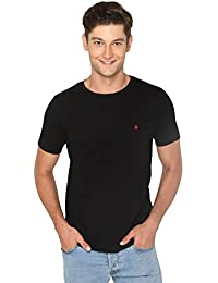 Bombay High Men's 100% Cotton Round-Neck T-Shirt