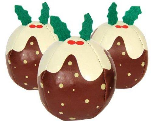 Jonglierbälle Weihnachts Pudding