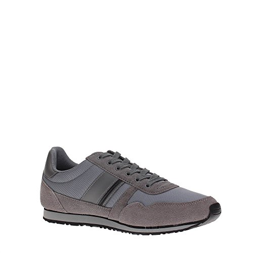 TOMMY HILFIGER FM0FM00979 MIDNIGHT SNEAKERS Homme Steel Grey