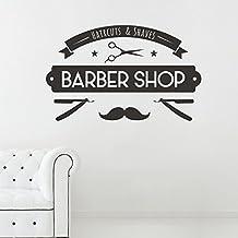 "Adesiviamo® ""Barber Shop"" Sign Wall Sticker Adesivo Murale"