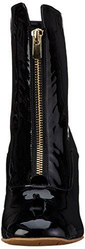 Fersengold - Düsseldorf, Stivali a metà polpaccio con imbottitura leggera Donna Nero (Nero (nero))
