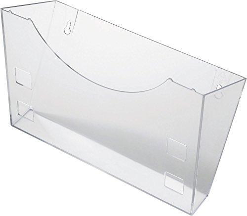 Helit H6103002 - Wandhalter the grid, glasklar
