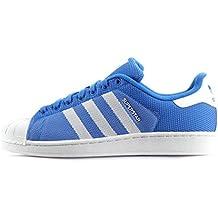 ADIDAS ORIGINALS SUPERSTAR hommes Chaussures baskets - Bleu, 42