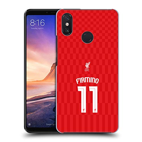 Official Liverpool Football Club Home Shirt Red Firmino Shirt New 2015/16 Hard Back Case for Xiaomi Mi Max 3