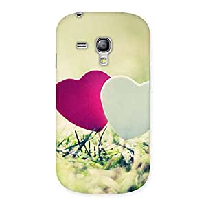 Gorgeous Heart Couple Multicolor Back Case Cover for Galaxy S3 Mini