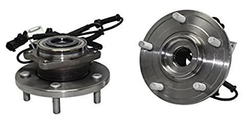 Brand New (Both) Front Wheel Hub and Bearing Assembly 2008-12 Town&Country Grand Caravan 5 Bolt w/ ABS (Pair) 513273 x2 by Detroit Axle