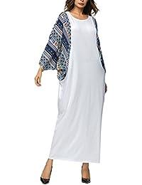 Zhhlinyuan Opción Múltiple Musulmanes Suelto Vestidos Cóctel Fiesta Loose Dresses Togas árabe Turquía ...