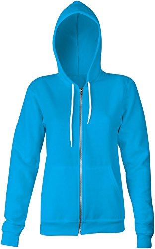 Testbild ★ Confortable veste pour femmes ★ imprimé de haute qualité et slogan amusant ★ Le cadeau parfait en toute occasion hellblau