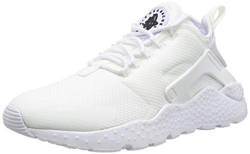 Nike W air huarache run ultra - Scarpe da corsa, Donna, colore Bianco (white/white-black), taglia Blanco (Blanco (white/white-black))