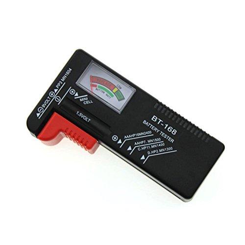 Digital Batterietester für AAA, AA, C, D, 1.5 V, 9 V Batterie und Knopfzellen