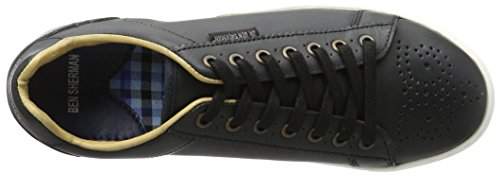 Ben Sherman Herren Tredegar Low-top Schwarz (nero)