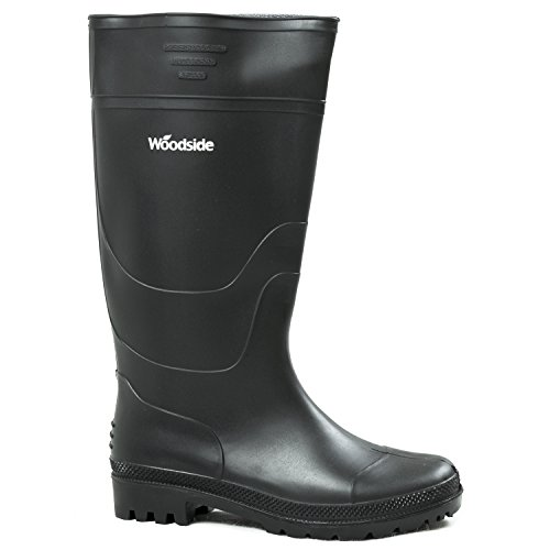 Woodside Waterproof Wellington Garden Welly Boots Mens & Ladies Wellies