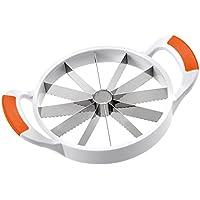 Westmark Melonenteiler, 29,7 x 21,5 x 3,6 cm, Rostfreier Edelstahl/Kunststoff, Jumbo, Weiß/Orange, 51602270