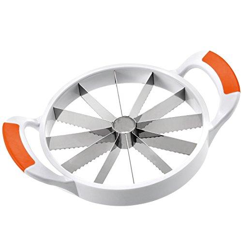 Westmark 51602270 Junbo Coupe-melon Plastique Blanc/Orange 29,5 x 22 x 7 cm