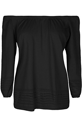 Be Jealous -  T-shirt - Maniche a 3/4 - Donna Black