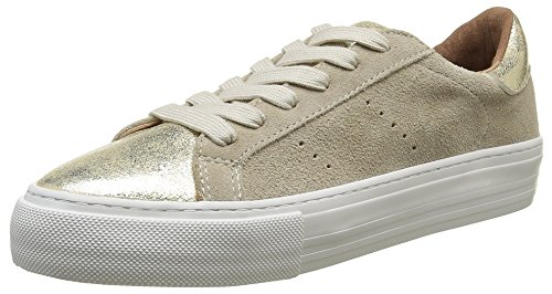no-name-baskets-basses-femmes-beige-arcade-sneaker-suede-glow-ivory-gold-37-eu