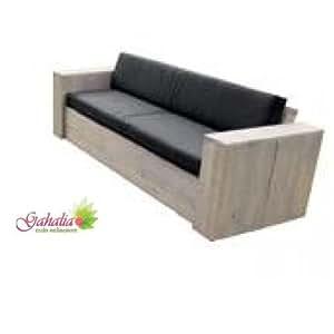 bauholz m bel lounge bank gartenbank gahalia 240x85x70cm ohne kissen. Black Bedroom Furniture Sets. Home Design Ideas