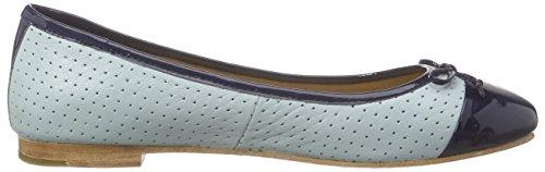 Marc Shoes Damen Bea Geschlossene Ballerinas Blau (light blue-combi 756)