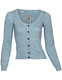 Fresh Made Cardigan, Größe:XL;Farbe:Blue Melange