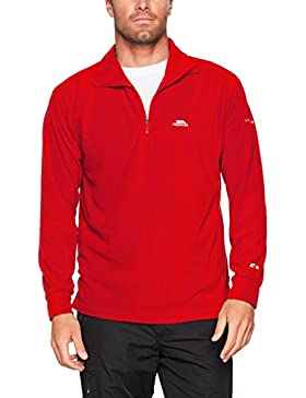 Trespass Masonville AT100 Forro polar, Hombre, Rojo (RED), M