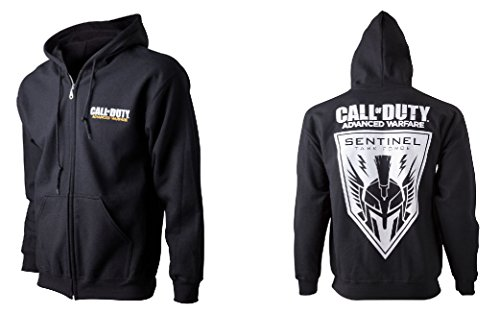 Preisvergleich Produktbild Call Of Duty Advanced Warfare Kapuzenjacke schwarz L