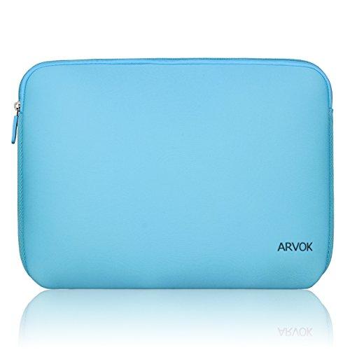 Arvok 15 15,6 16 Zoll Laptoptasche Schutzhülle Wasserfest Neoprene, Baby Blau