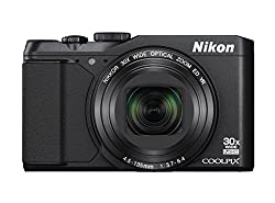 Nikon COOLPIX S9900 Digital Camera with 30x Optical Zoom and Built-In Wi-Fi (Black)