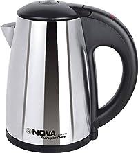 Nova Travel Series NKT - 2740 0.8-Litres Electric Kettle (Black)