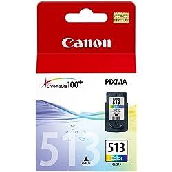 Canon - CL-513 - Cartouche d'Encre d'Origine - Tricolore