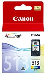 Canon Cl 513 - Print Cartridge - 1 X Colour (Cyan, Magenta, Yellow) - 349 Pages