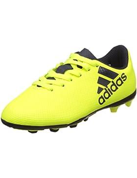 Adidas X 17.4 FxG J, Botas de fútbol Unisex niños