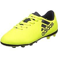 Adidas X 17.4 FxG, Chaussures de Football Compétition Mixte Enfant