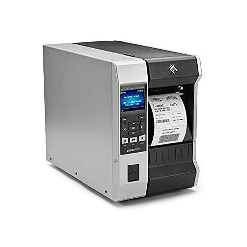 Zebra TT Printer ZT610, 4, 300 DPI, Euro and UK Cord, Serial, ZT61043-T0E0100Z (DPI, Euro and UK Cord, Serial, USB, Gigabit Ethernet, Bluetooth 4.0, USB Host, Tear, Color, ZPL) -