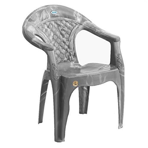 Avonn 7005 Regular Series Plastic Chair (Grey)