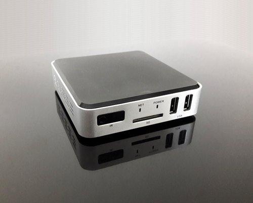 Android Box für Entwickler und Multimedia-User, 4K UHD, HDMI-in und -Out, 2 GHz, 1 GB Ram, 8 GB Flash Ais Anzeige