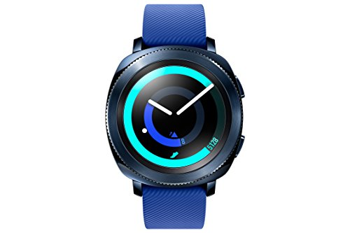 Samsung Gear Sport Smartwatch, Blue, GPS, Impermeabile 5ATM, Lettore MP3 Integrato [Versione Italiana]