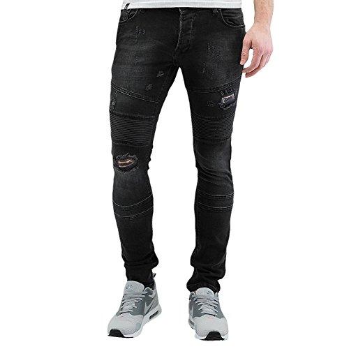 2Y Homme Jeans / Slim Sintra Noir
