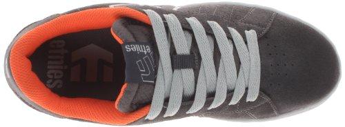 Etnies FADER LS, Herren Skateboardschuhe Grey/Orange