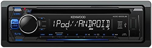 Kenwood Subwoofer 12 (Kenwood KDC-200UB Autoradio USB/CD-Receiver mit iPod-Steuerung und Tastenbeleuchtung blau/schwarz)