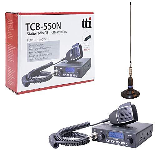 TTi TTI-PACK21 Radio CB TCB-550 + PN1 ML160 Antena