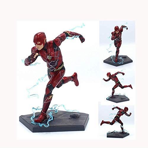 Kostüm Licht Iron Mit Mann - MA SOSER Iron Studios DC Helden Justice League Film Edition Run Flash Flash Hand Modell Spielzeug 18 cm