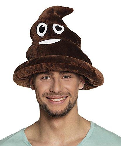 (Lustiger Emoji Emoticon Scheisshaufen Hut Scherzartikel Kothaufen Mütze Haufen)
