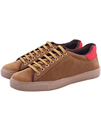 Butchi Classic Beige Suede Stylish Casual Shoe For Men