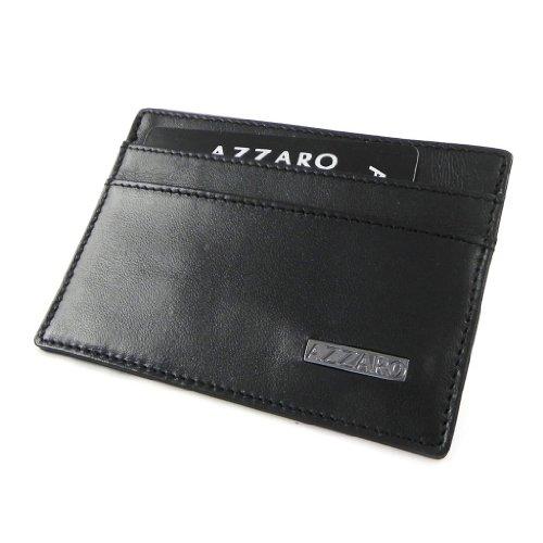 Azzaro [H9716] - Porte-cartes 'Azzaro' noir (ultra plat)
